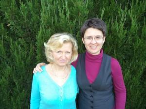 Simon Angéla és Édesanyja